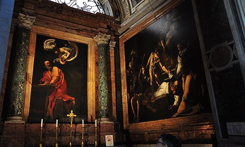 Caravaggio Art Walking Tour - the Other Michelangelo