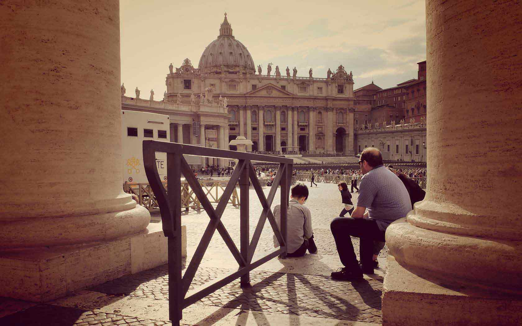 The Vatican City State, a foreign state in the heart of Rome