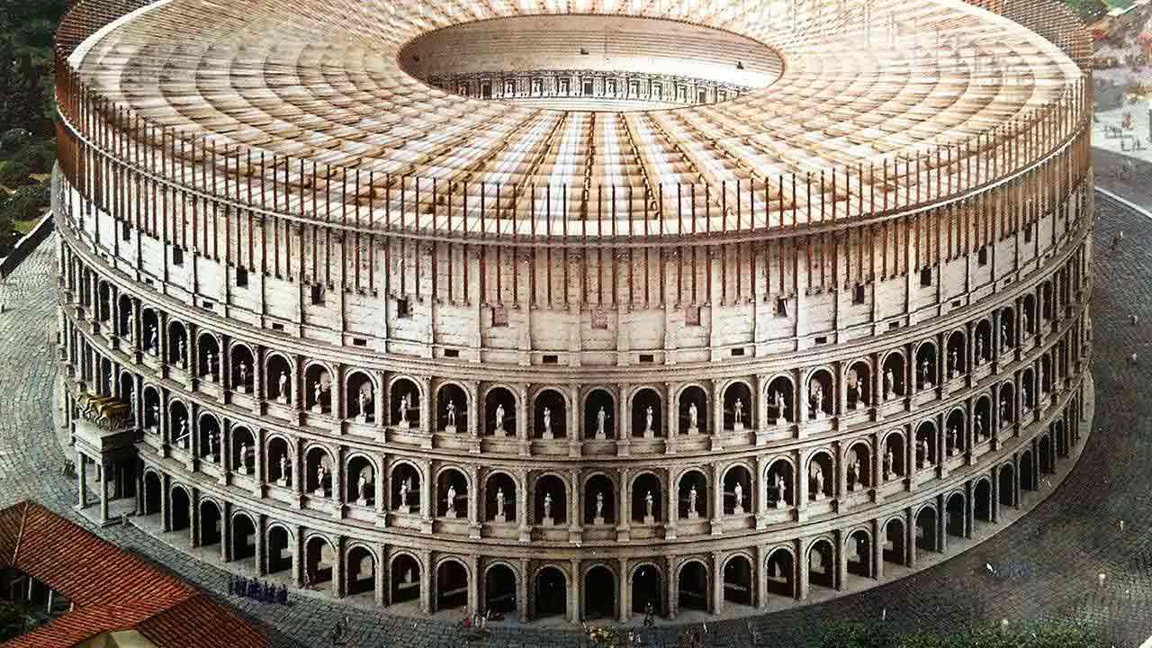 Colosseum Underground Third Ring