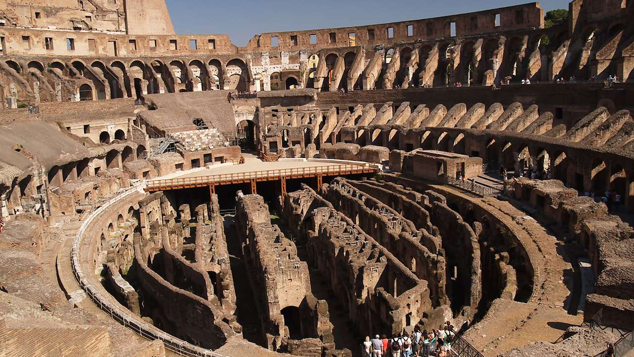 Colosseum Underground And Third Ring Tickets
